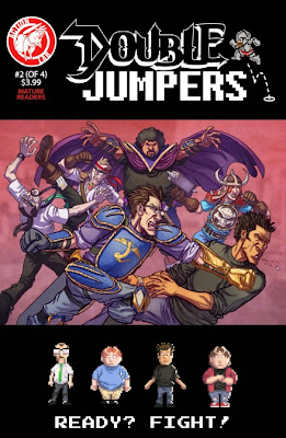 Cover of Double Jumpers #2 from Action Lab Entertainment
