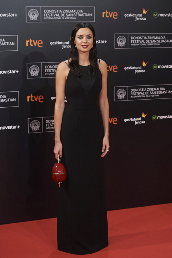 Dafne Fernández en el Festival de San Sebastián 2015