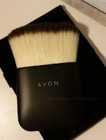 Flat contour brush, pędzel do konturowania Avon