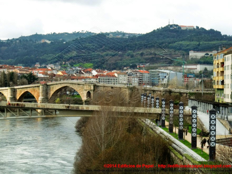 Pasarela, paseo y Puente Romano, Ourense - EdP