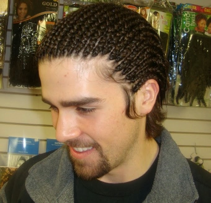 cornrows ponytail hairstyles : Cornrows Trendy Hairstyles for Men