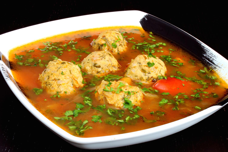 Artsy Bites: Romanian Meatball Soup   Ciorba de Perisoare