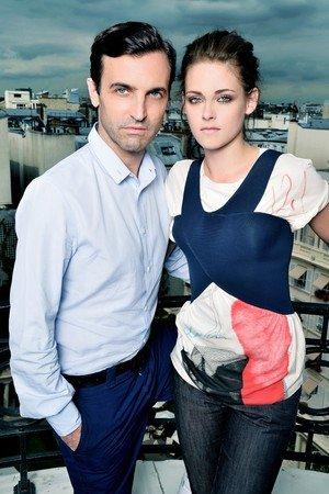 Kristen Stewart's Debut Balenciaga's Florabotanica Ad: First Look! » Gossip