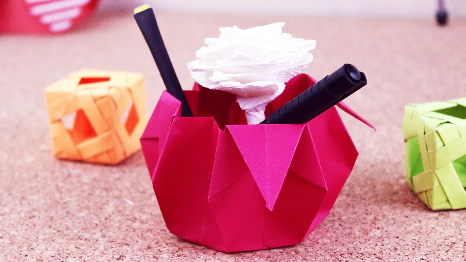 Canastita Dulcera / Origami – Jeguridos