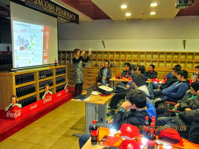 Χαλκίδα: Επίσκεψη μαθητών στο εργοστάσιο της Coca–Cola και στην Σχολή Πεζικού (ΦΩΤΟ)