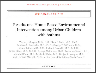 Childhood Asthma Study: Part 2 - Carpet, No Carpet? No Difference