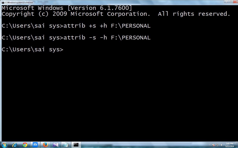 unhide-folder-command-prompt