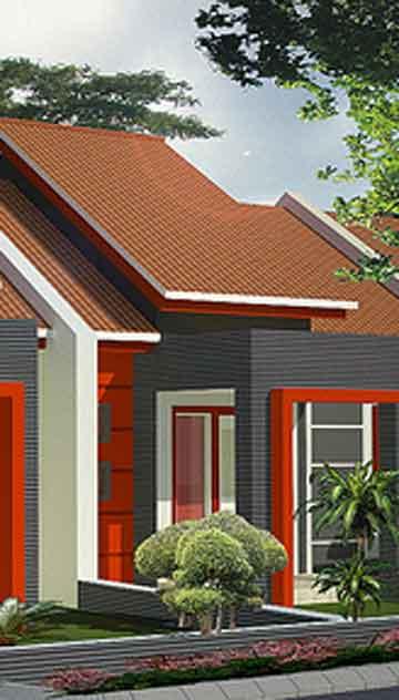 desain rumah sempit