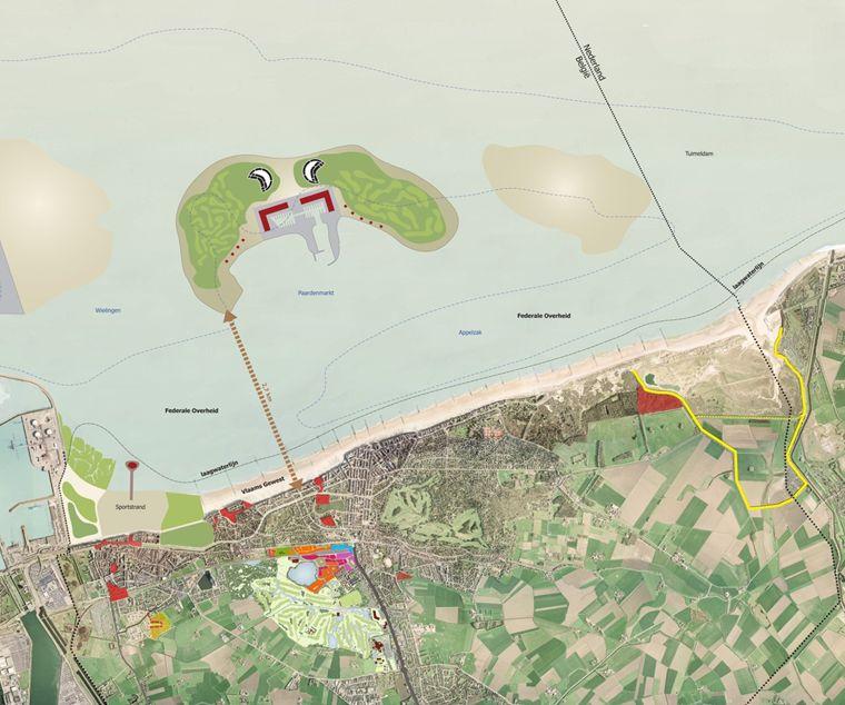 Oro nieuws knokke heist drie eilanden voor knokke heist en een pier in heist - Dimensie centraal keuken eiland ...