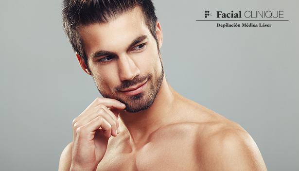 Depilación Médica Láser para Hombres de FC Facial CLINIQUE