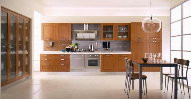 Materiales para cocinas iii maderas c lidas e for Modelos de puertas de madera para cocina integral