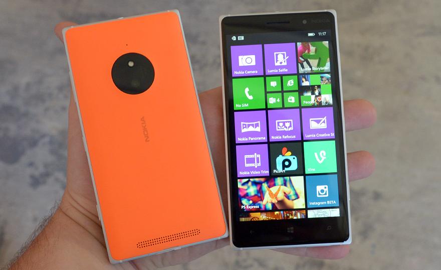 Lumia 930  and  Lumia 830