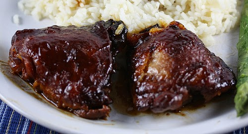 Saucy Crockpot Chicken Thighs Recipe