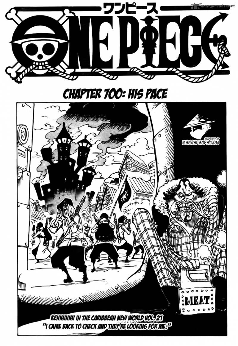 one piece pageone