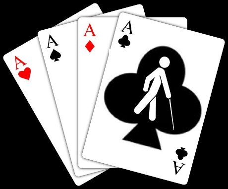 PLAYING THE BLIND CARD