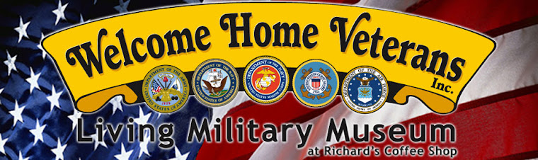 Welcome Home Veterans at Richard's Coffee Shop