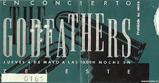 entrada de concierto de godfathers