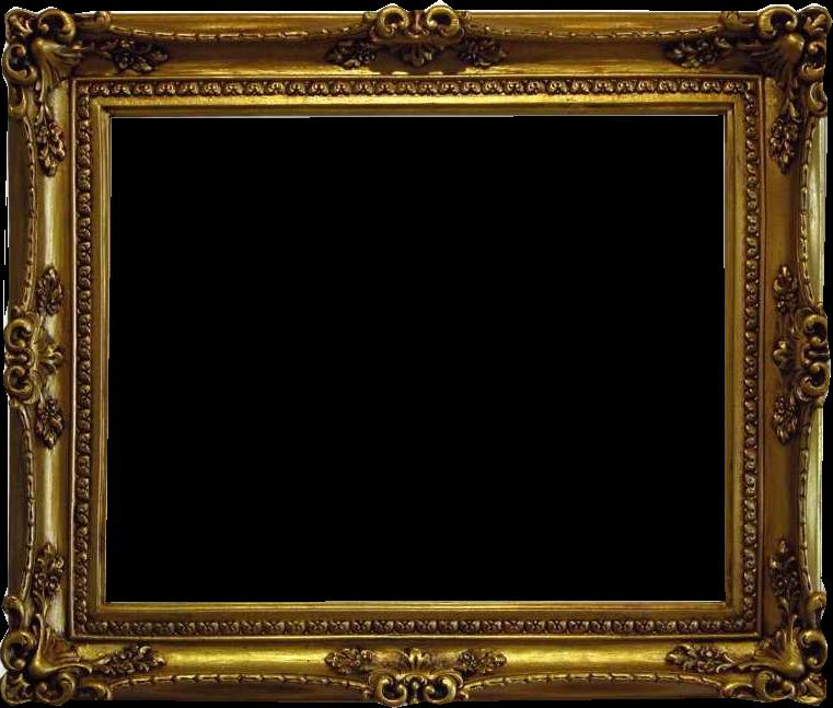 Zoom dise o y fotografia marcos antiguos en png con fondo - Marcos dorados para cuadros ...