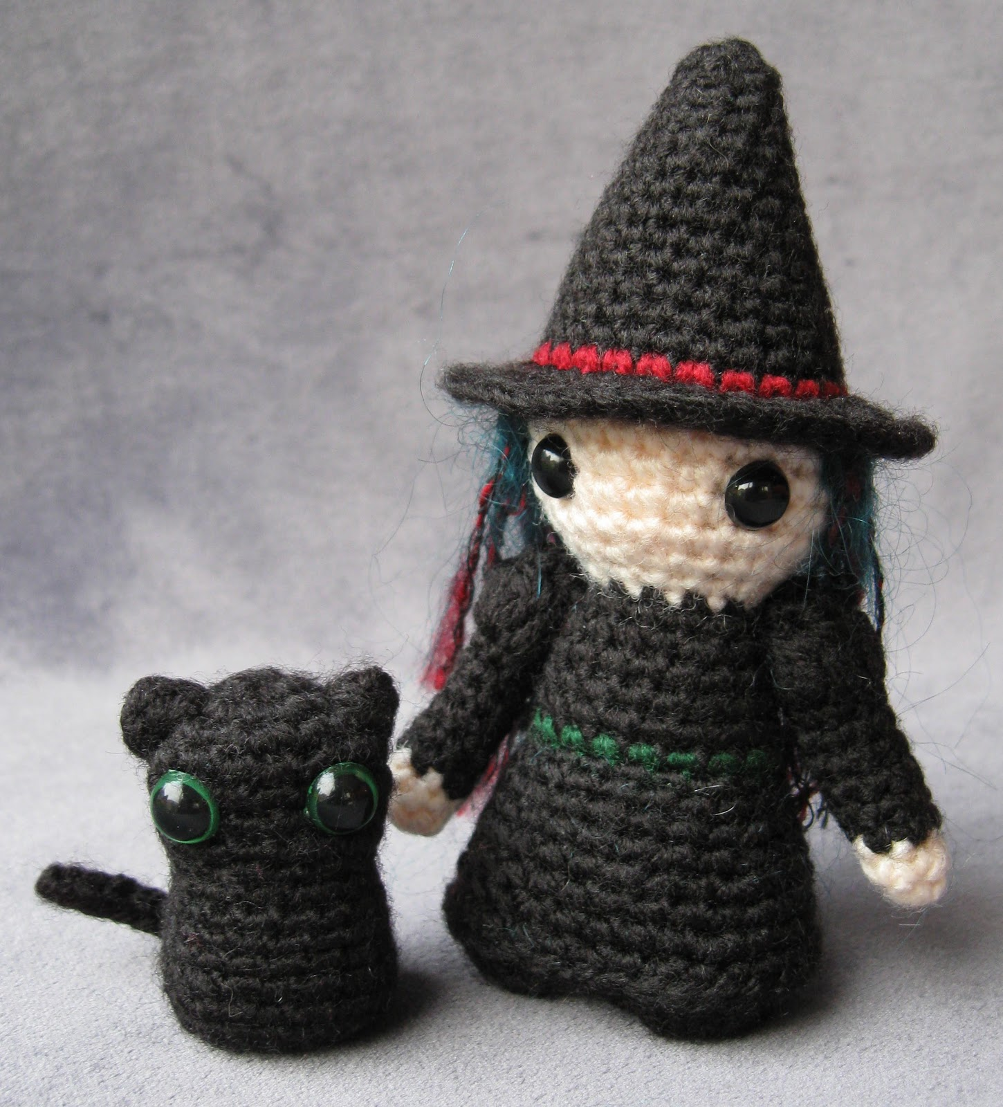 Free Crochet Hat Patterns For Halloween : LucyRavenscar - Crochet Creatures: Halloween Patterns