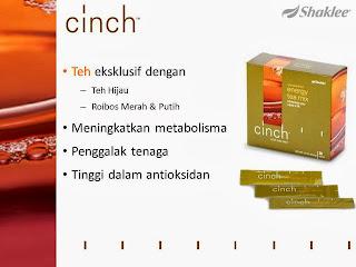 Cinch Energy Tea Mix Shaklee