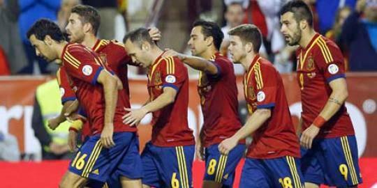 Skuad Timnas Spanyol di Piala Dunia 2014
