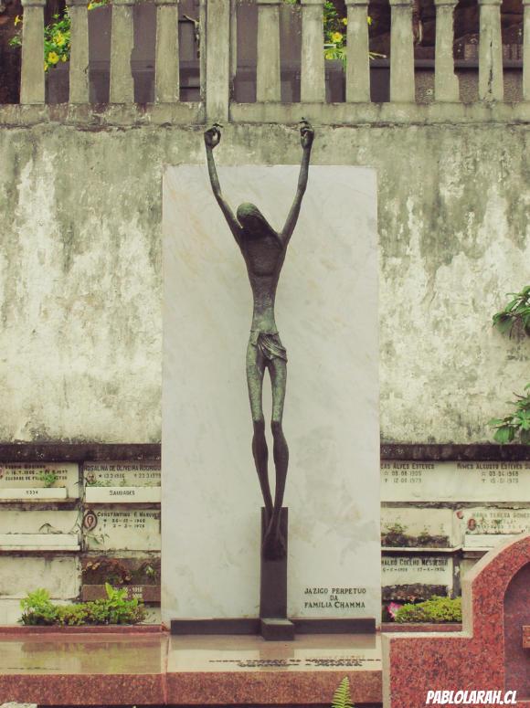 Christ,Cemitério São João Batista,Saint John the Baptist Cemetery,Rio de Janeiro, Brazil, Pablo Lara H Blog, pablolarah