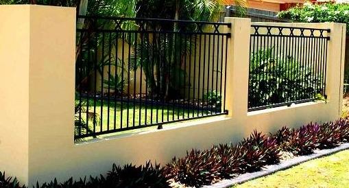 contoh desain pagar rumah