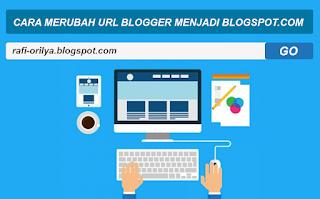 Cara Mantap Merubah URL Blogger Menjadi Blogspot.com