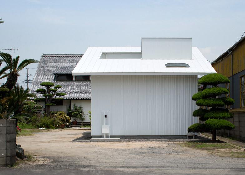 Ampliamento di una casa con cortile a kudamatsu in - Ampliamento casa ...