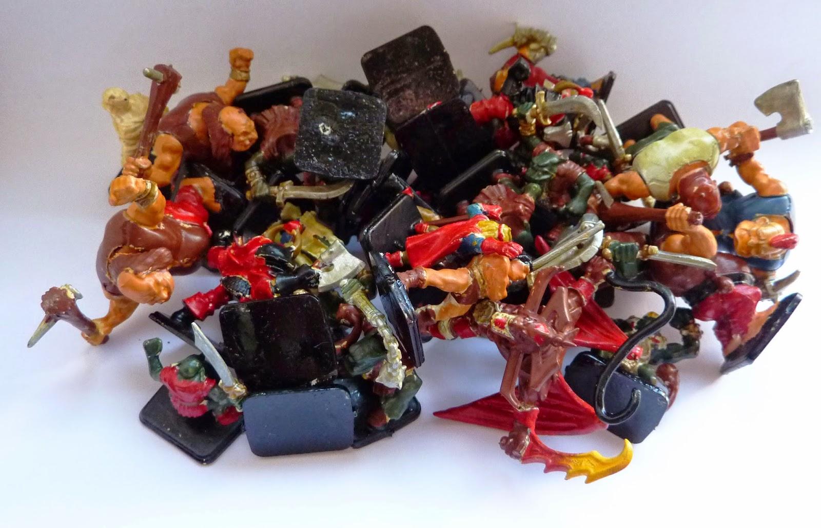 Heroquest miniatures