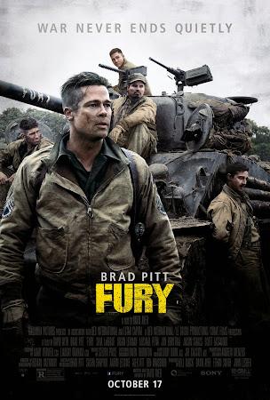 Fury 2014 DVDSCR