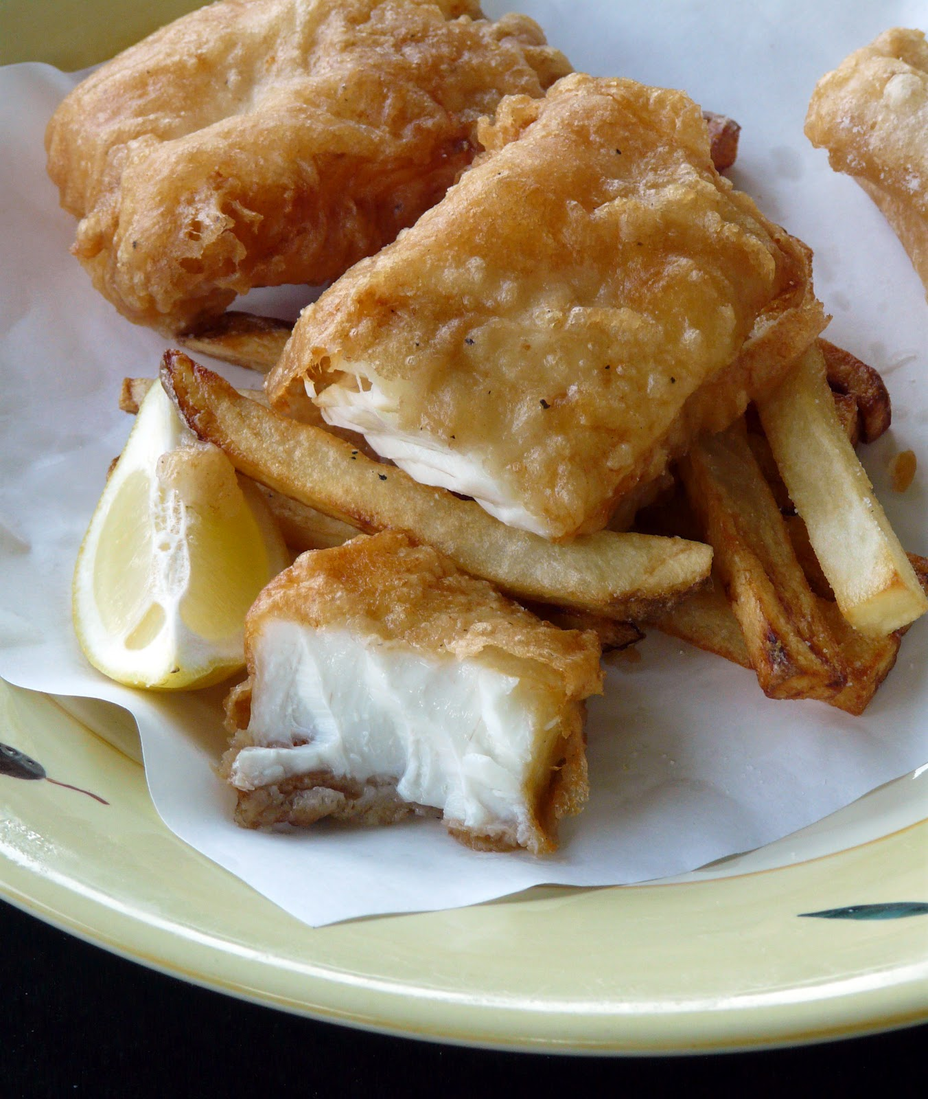 Thibeault's Table: Halibut Fish and Chips