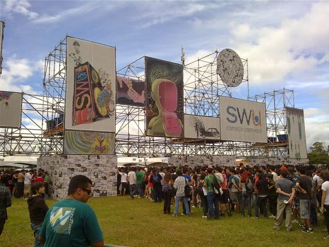 SWU é um evento que acontece em São Paulo