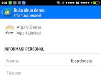 Cara Daftar Akun Demo Forex di Android