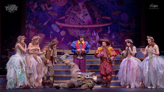 """Escena de la representación """"Otro Gran Teatro del Mundo"""""""