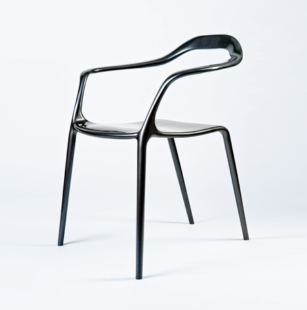 Avant garde design saturday simone viola design - Chaise en metal industriel ...