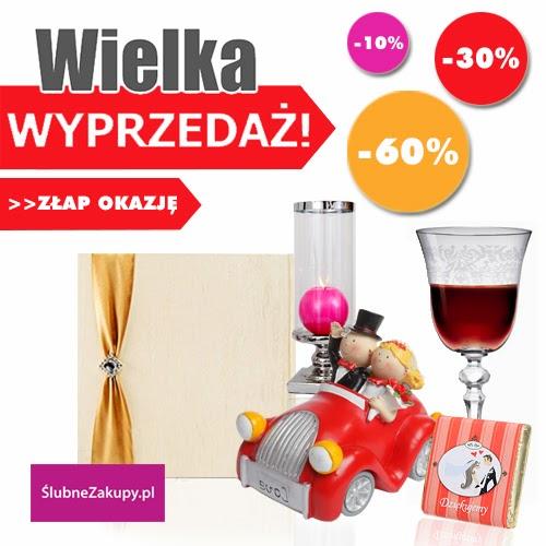 Polecamy: Wiosenna Wyprzedaż w sklepie ślubnym SlubneZakupy.pl