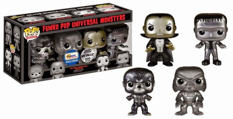 Funko Pop! Universal Monsters Pack