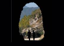 Túnel de entrada a la Foz de Lumbier