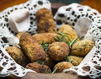 Bolinho de Arroz Integral, Inhame, Biomassa e Quinoa (vegana)