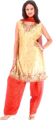 Design Of Punjabi Salwar Suits 2013