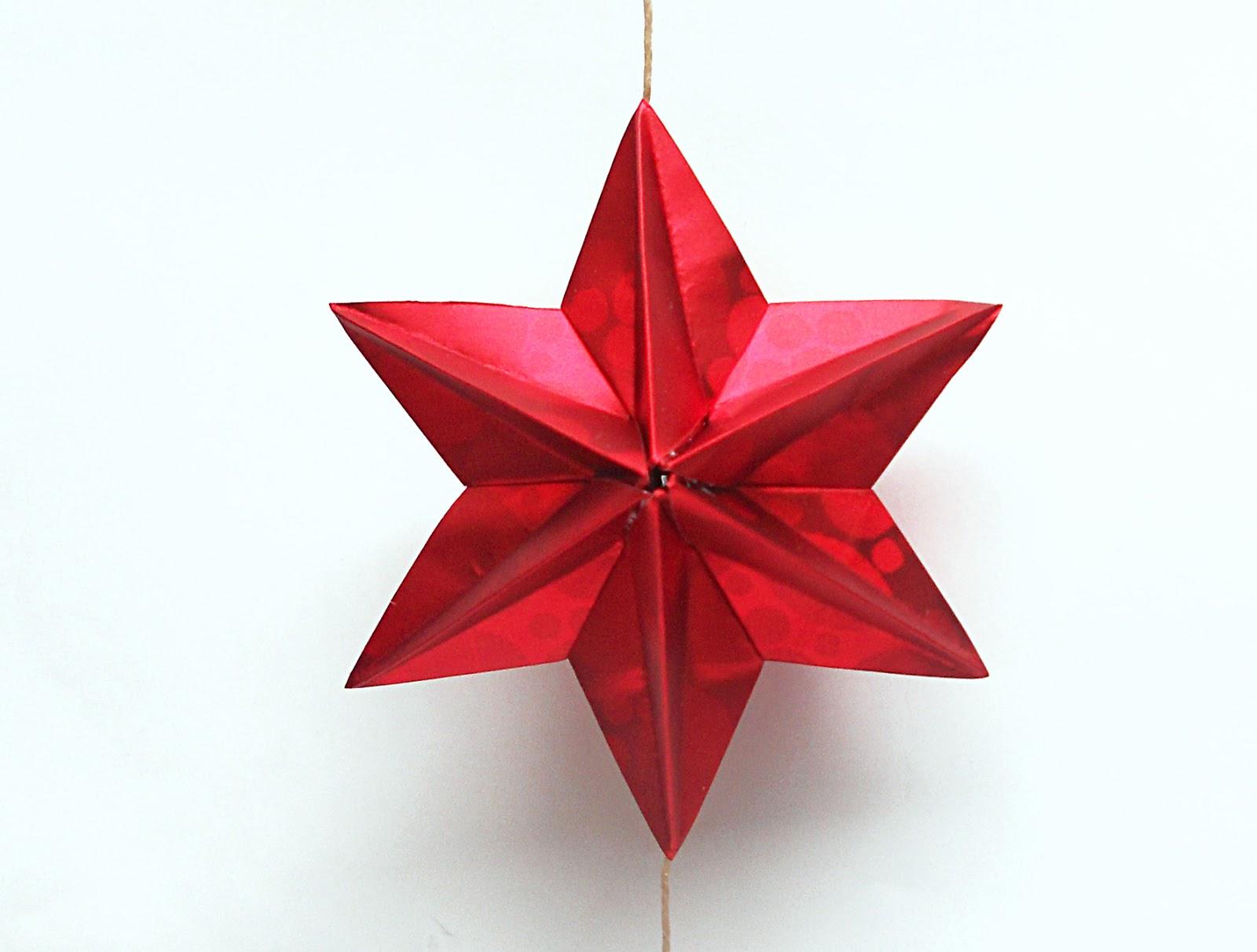 Mas origami noviembre 2012 - Origami de una estrella ...