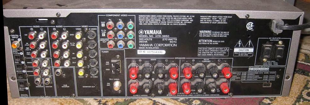 yamaha htr 5650 av receiver audiobaza rh audiobaza blogspot com yamaha 5650 manual yamaha receiver htr-5650 manual