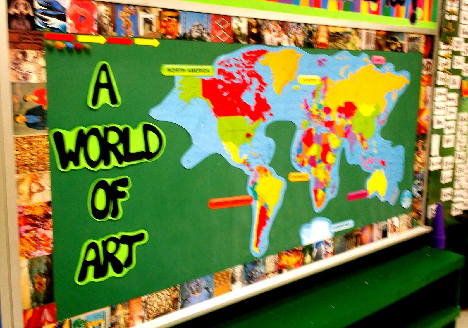 Art With Mr E Art Room Bulletin Boards Displays 2011