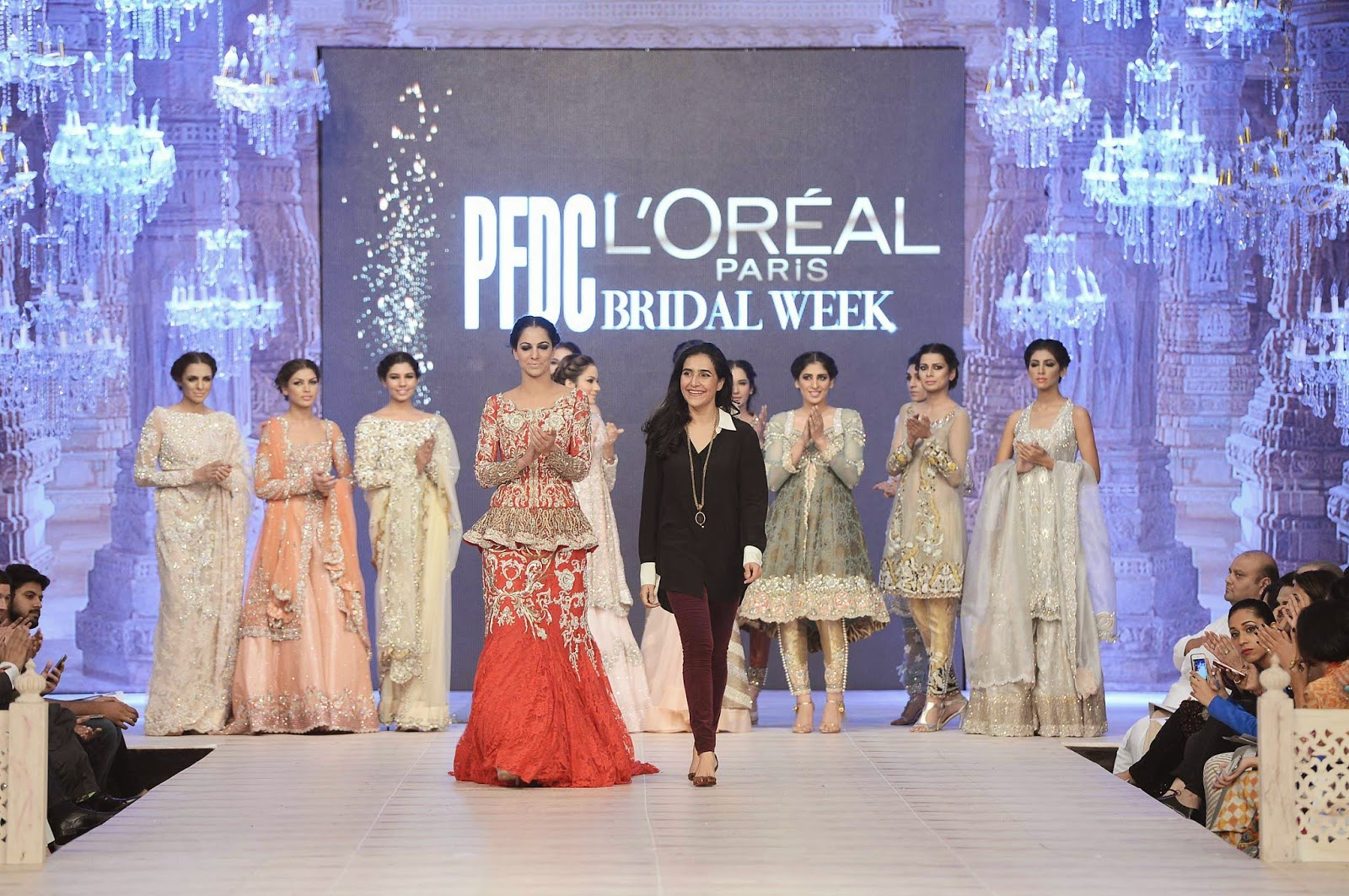 Ammara Khan PLBW 2014 bridal collection