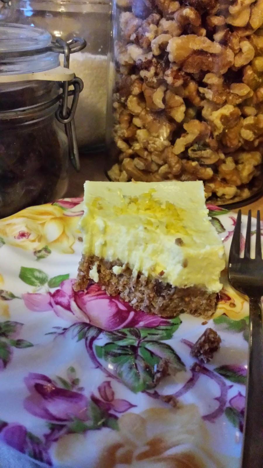 Healthilicious Life - Lemon squares