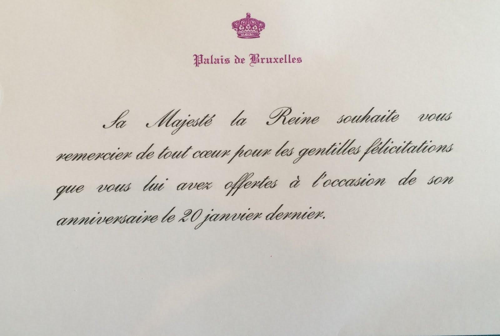 Gerts Royals Queen Mathilde Of Belgium Birthday Reply 2016