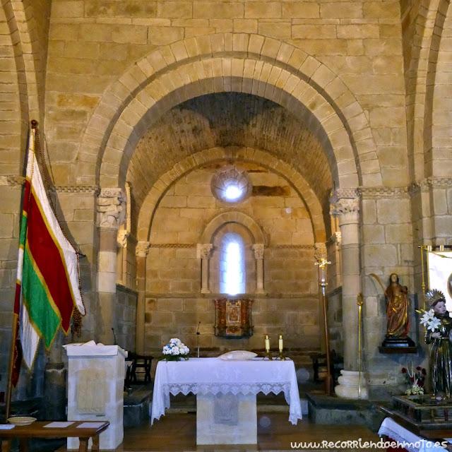 altar monasterio Sta Marta de Tera