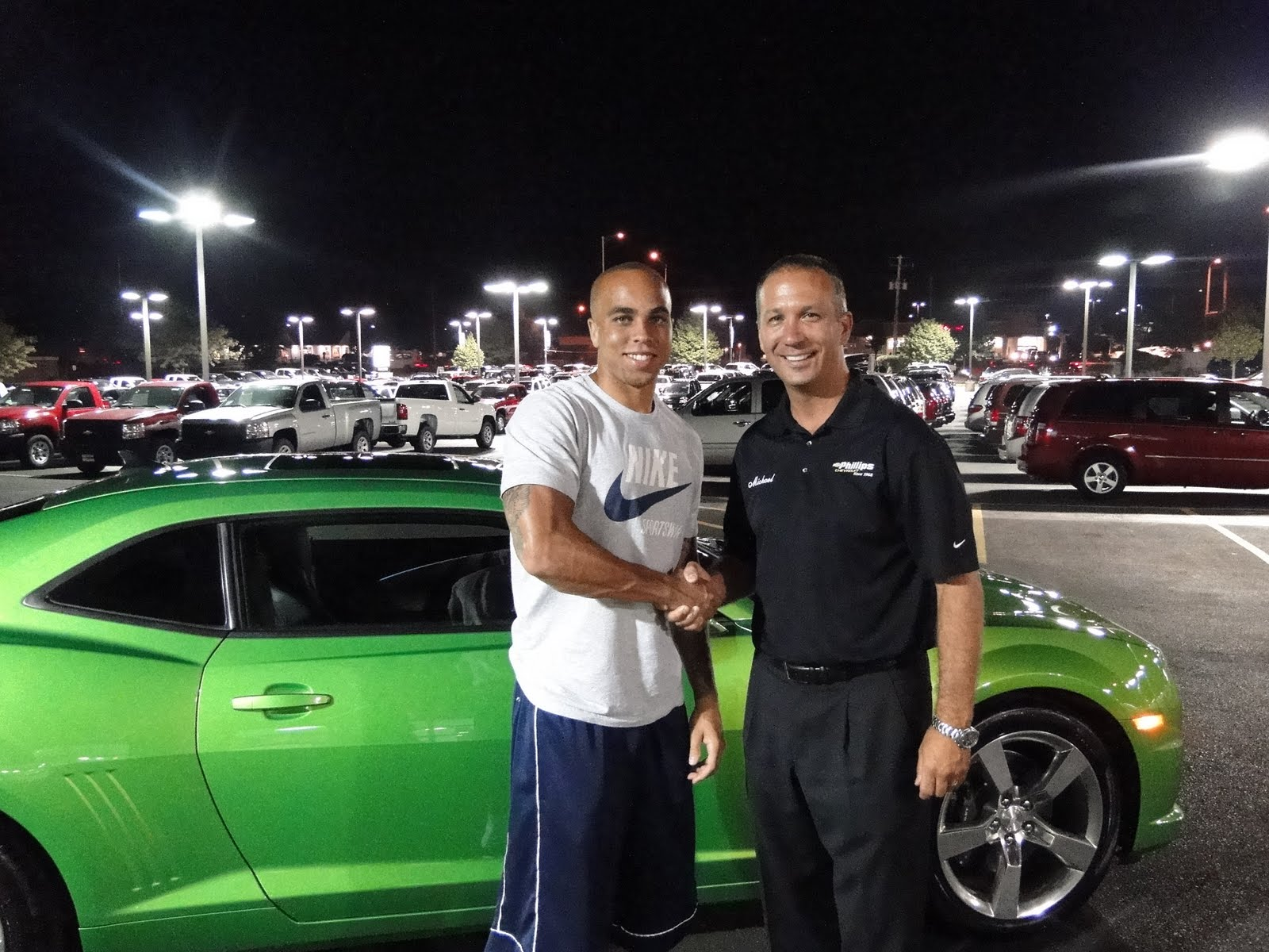 Phillips Chevrolets Blog Johnny Knox Bears Wide Receiver Visits - Phillips chevy car show