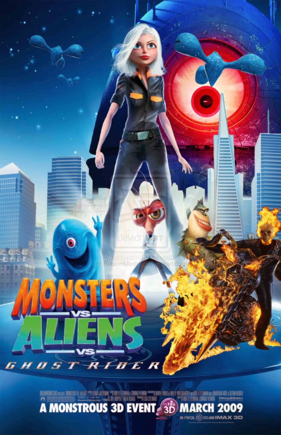 Monster vs aliens cartoonporn cartoon gallery